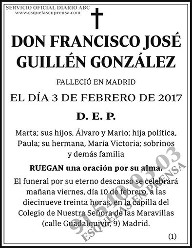 Francisco José Guillén González